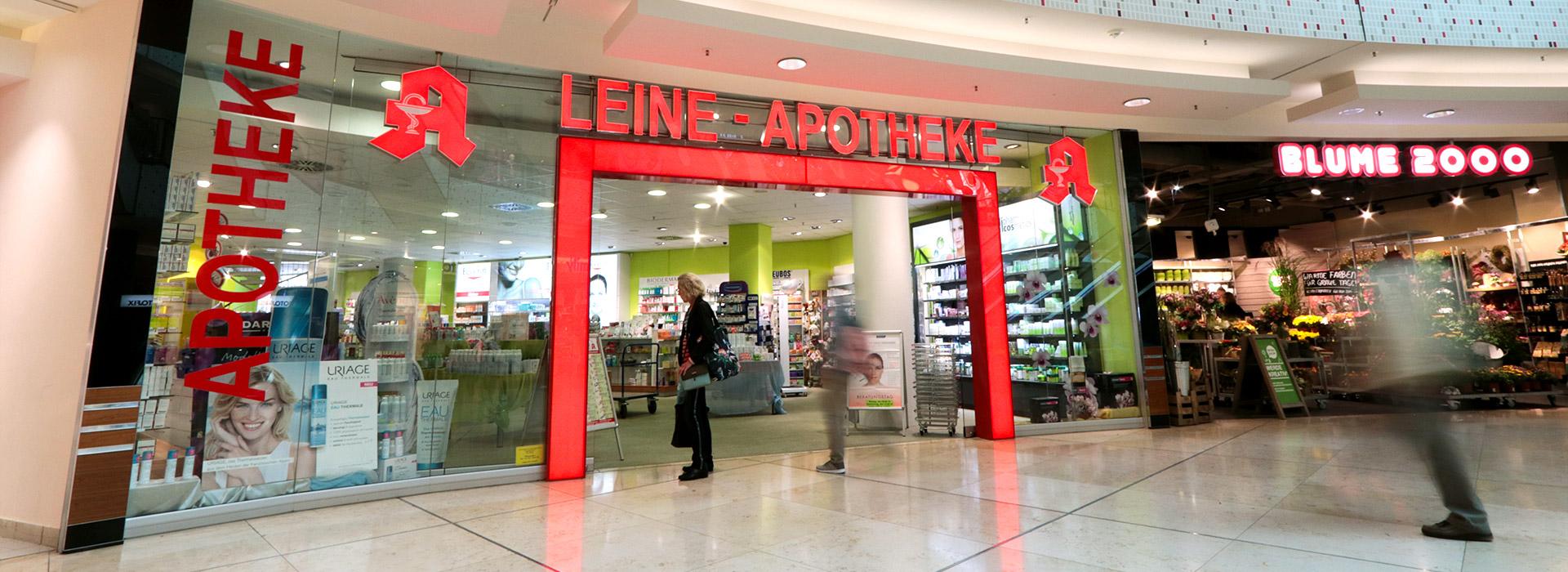 In Der Ernst August Galerie Leine Apotheke